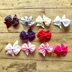 Other - 🎀10 Piece Girls Bow Set!🎀